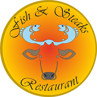 Fish Steaks Logo